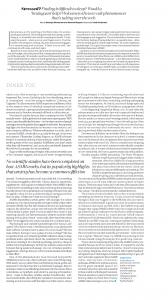 Article ELLE Magazine UK 1
